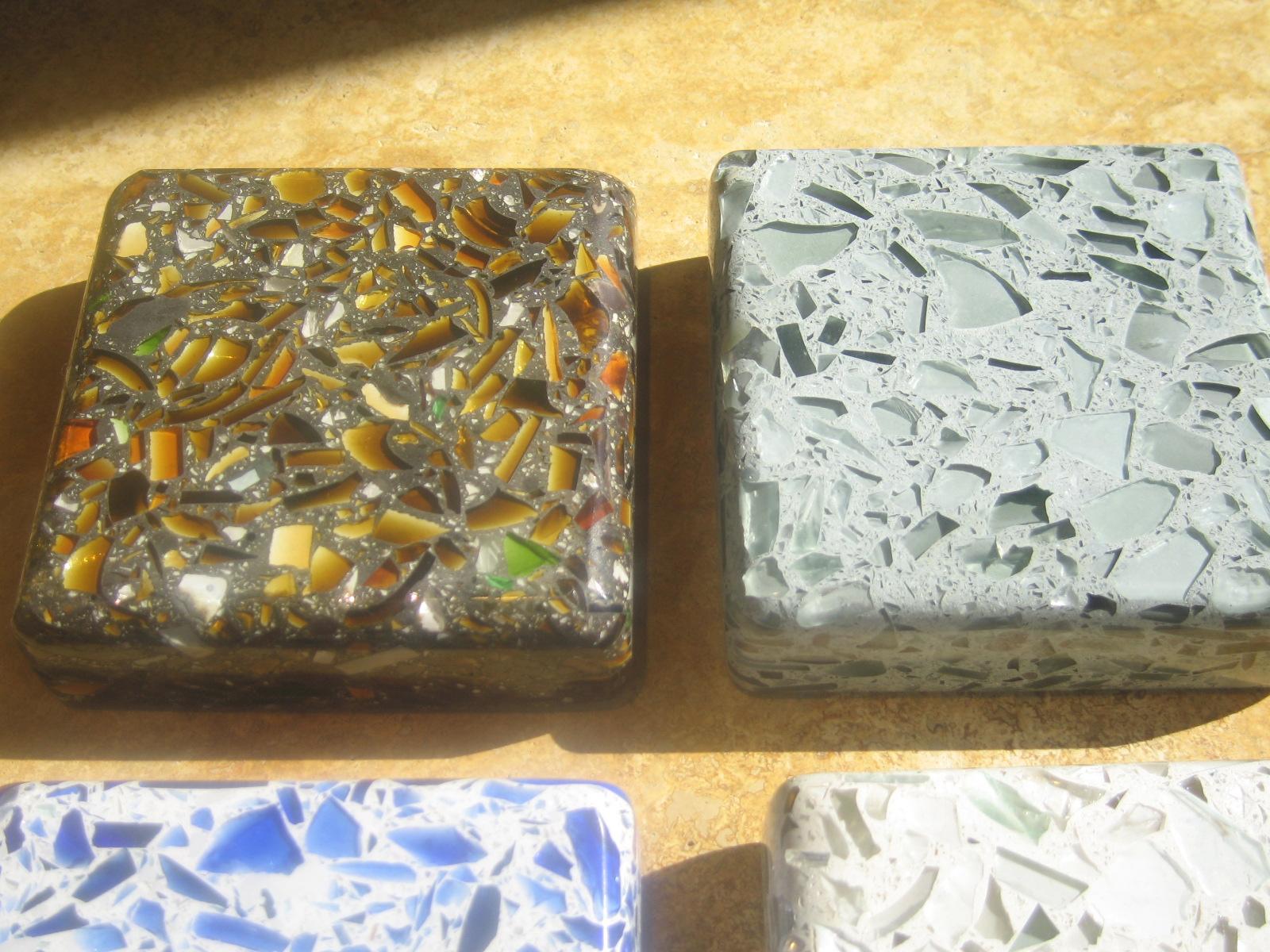 New Countertop Materials vetrazzo – new countertop material   gaspar's construction