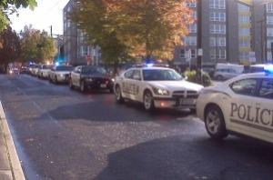 Police procession 1
